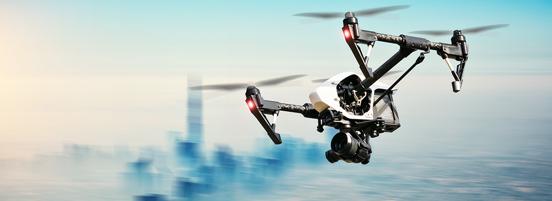 Drones and Data Security – a progressive look into the future