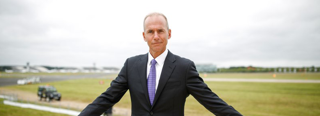 CEO of Boeing says prototype will be ready for takeoff by next year