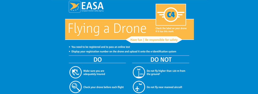 The key safeguards of operating a drone