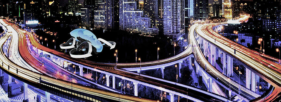 Toyota's flying car: Skydrive