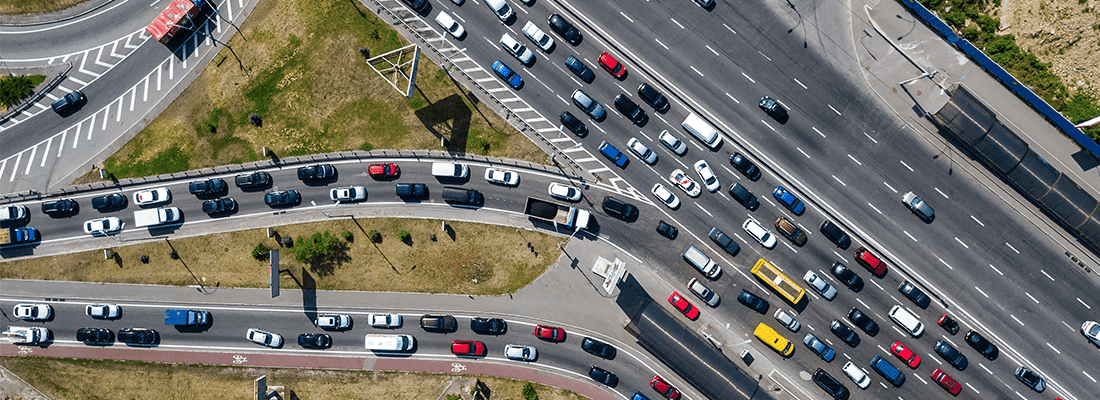 Using drones for traffic analysis