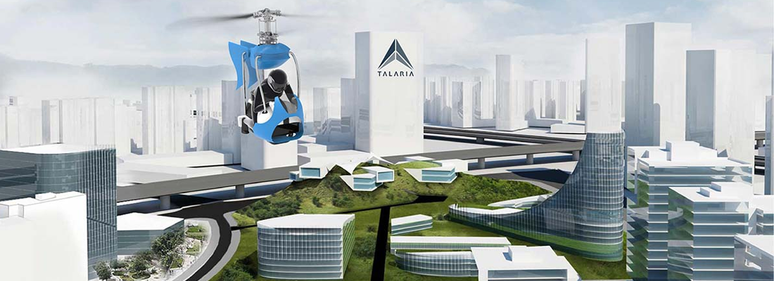 Project Talaria Creates Modular Drones to Support Urban Air Mobility Ecosystems