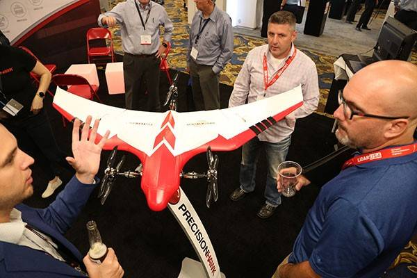 More solutions on display than any other commercial drone event