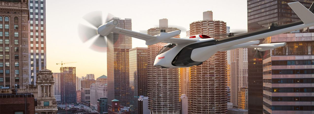 Honeywell forms a dedicated Urban Air Mobility unit