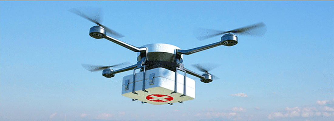 The impact of drones during the Corona virus