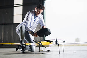 medical drone showcased at amsterdam drone week