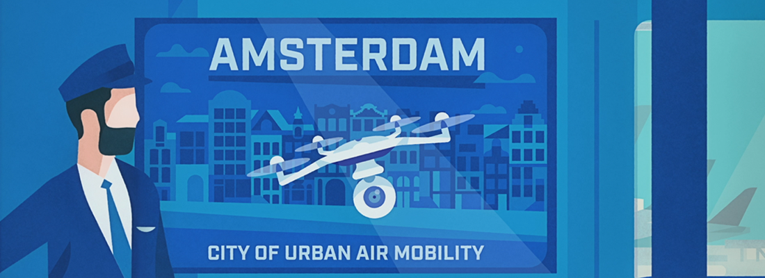 the future of urban air mobility at amsterdam drone week