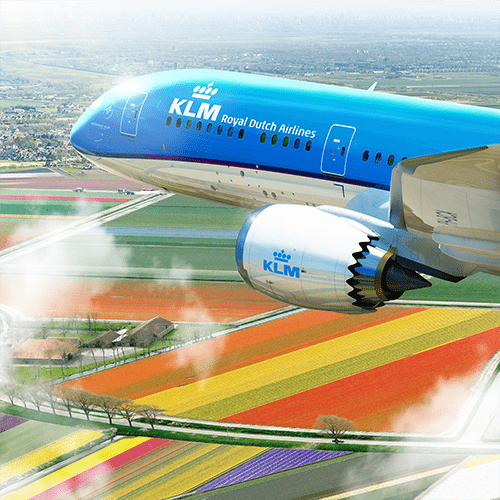 Fly with KLM